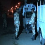 Rangers Arrested Suspects in Patel Para Search Operation (Karachi)