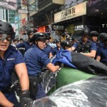 Hong Kong Police Clear Protest Camp After Clashes