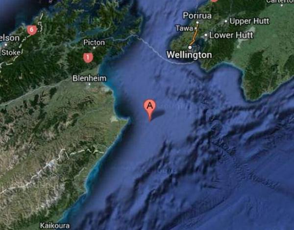 Quake off New Zealand Coast