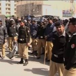 Faisalabad Riot Cops Set to Rout PTI Strikers