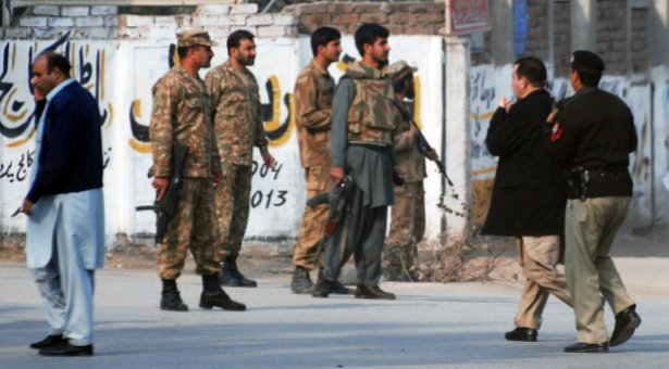 Taliban Storm School in Peshawar