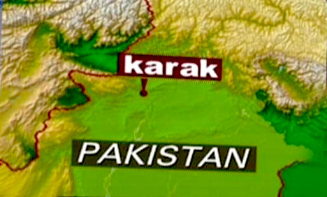 Road Accident in Karak