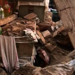 Women Children Hurt in Roof Collapse Incident