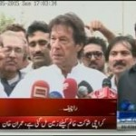 Imran Khan Accuses PM Sharif of Plotting Zardaris Army Outburst