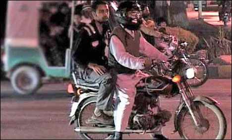 Pillion Riding Banned