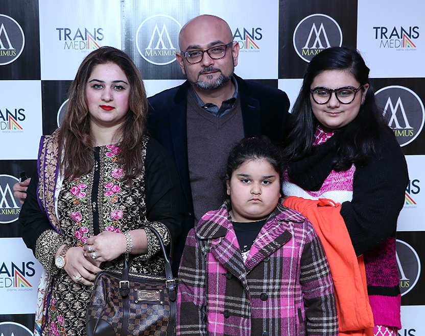 CEO Maximus Mr.Ilyas Hussain & Family