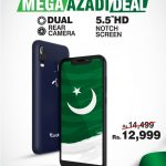 Telenor Infinity Smartphones and Yellostone announce Mega Azadi Deal
