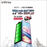 Infinix HOT 8 2+32GB with 5000mAh Battery is now available for Pre-order in Pakistan