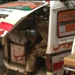 Ranger Shot Martyred officer Hurt in Karachi