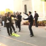 Police Launches Baton Charge on Protesting Lawyers Outside Supreme Court