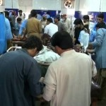 New Year Celebrations Ten Wounded in Karachi